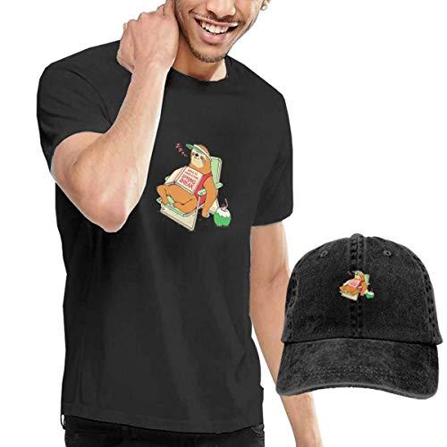 Break Kostüm Spring - Herren Kurzarmshirt Ways to Have A Fun Spring Break Men's Short Sleeve T Shirt & Washed Adjustable Baseball Cap Hat