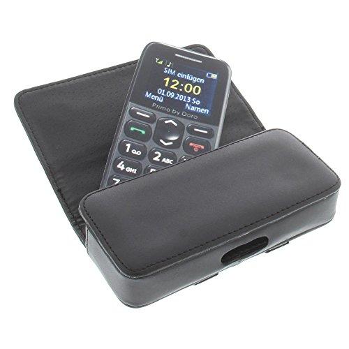 foto-kontor Tasche für Emporia Essence Plus Telme C115 Elegance V35 Eco Telme C151 Quertasche Handytasche Schutz Hülle