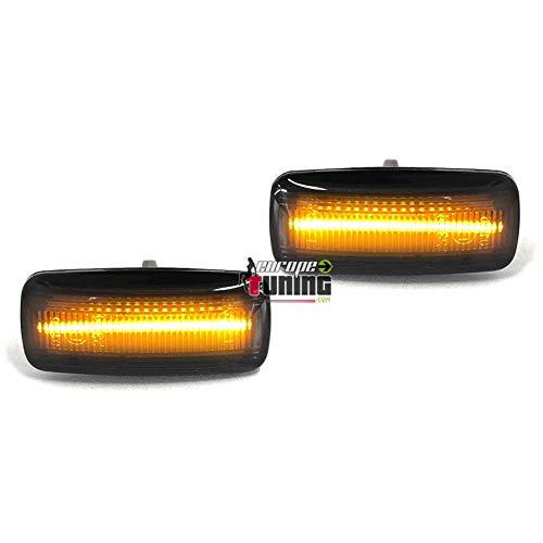 S3 A4 S6 Clignotant lat/éral LED dynamique Gempro 2 X LED coulantes orange de couleur Jaune 18 SMD avec non-polarit/é CAN-bus Sans erreur OE Socket Clair pour A3 S4 A6