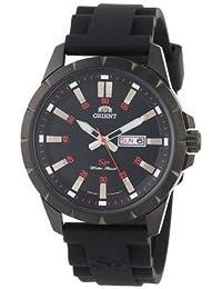 Orient Sporty–Reloj Reloj de cuarzo caucho Día Fecha Gun Color FUG1X 00BB9