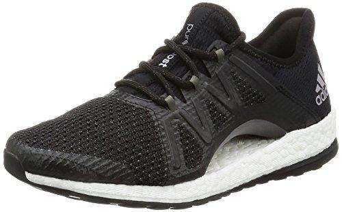 Damen Boot Adidas (adidas Damen Pureboost Xpose Gymnastikschuhe, Schwarz (Core Black/Core Black/Tech Silver Met. F13), 36 2/3 EU)
