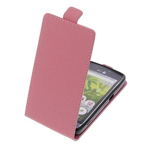 Tasche für Doro 8031 Smartphone Flipstyle Schutz Hülle pink