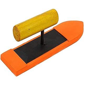 Llana de flotador de esponja 9 pulgadas con mango de madera, cemento, herramientas de albañilería