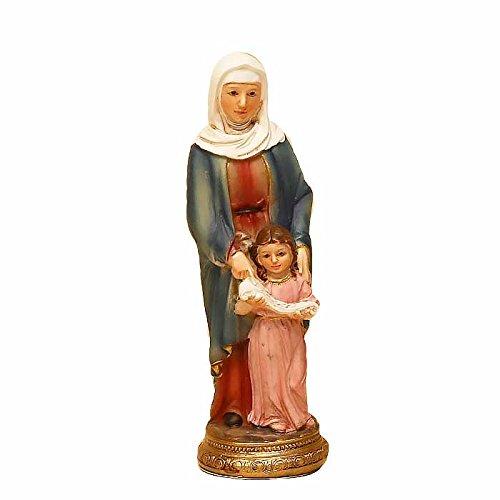 Santa Ana con virgen niña 11cm