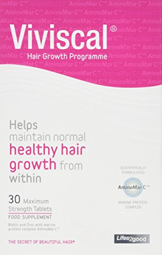 Viviscal Maximum Strength Hair Growth Supplements 2 Week Supply (30 tablets)