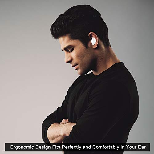 Kabelloser Ohrhörer, Fantany Bluetooth 5.0 wirkliche kabellose Stereo Kopfhörer im Ohr wasserdicht Headset mit Ladehülle Mini eingebautes Mikrofon und Lärmfrei Ohrhörer für Android & iPhone - 5