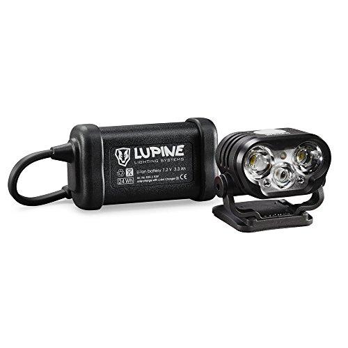 Preisvergleich Produktbild Lupine Blika 4 Helmlampe 2100 Lumen mit 3.3Ah Hardcase Akku