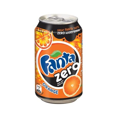 Fanta Orange Z ro 33cl pack de 24