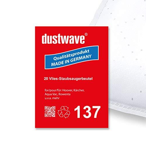 Test Vac (Megapack - 20 Staubsaugerbeutel geeignet für Aqua Vac (Shop Vac) - Synchro 30 A, XS Kesselsauger (30 Liter) - dustwave® Premiumqualität - Made in Germany)