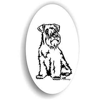 Zwergschnauzer Sticker Hunde Auto Aufkleber Art.ST0124 , Aufkleber Wohnmobil Wohnwagen amberdog