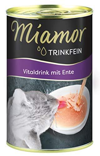 Miamor Trinkfein- Vitaldrink mit Ente, 24er Pack (24 x 135 g)