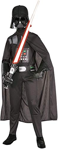 Rubie's - costume di darth vader, m (5 - 7 anni), nero