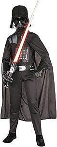 Rubies 882009 Star Wars - Disfraz de Darth Vader para niños , L (8-10 años)