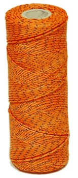 bon-11-259-500ft-number-18-bonded-braided-nylon-line-orange-black-flecks