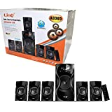 KIT DOLBY SURROUND 5.1 HOME THEATRE MULTIMEDIALE USB SD FM BLUETOOTH LINQ A3305 RGDIGITAL RGD