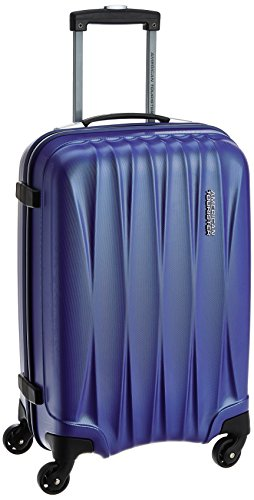 American Tourister Polycarbonate 55 cms Midnight Blue Carry-On (38W (0) 11 001)