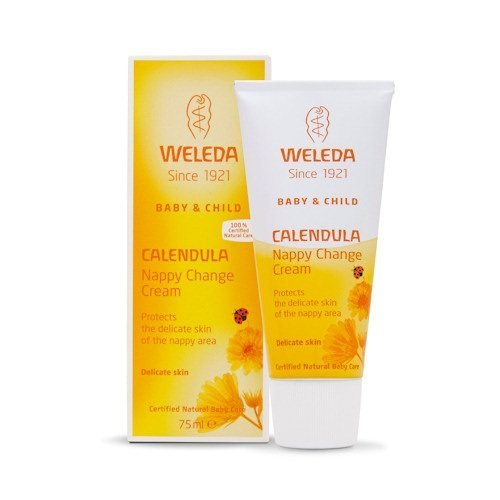 Weleda Calendula Nappy Change Cream to Protect & Soothe Delicate Baby Skin - 100% Natural Remedy for Sore & Red Skin