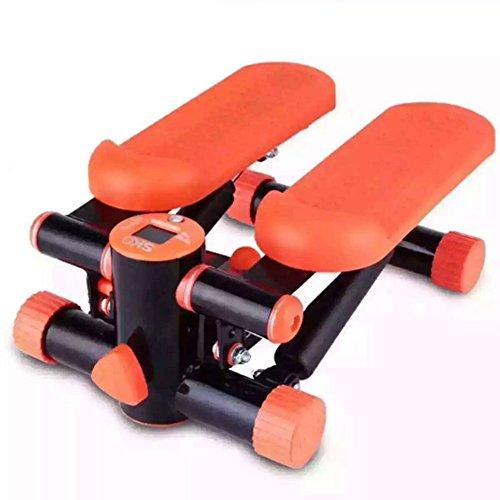 LY-01 Stepper Aerobe Übung Stepper Machine mit Widerstand Bands für Cardio & Toning Übungen - 2 in 1 Dual Übung Stepper, kann es für Familie, Fitnessstudio und Arbeitsplatz verwendet Werden.