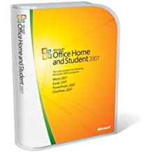 Microsoft Office 2007 Home and Student Edition (3 User Licence) (PC)