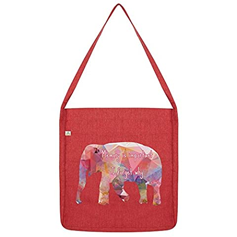 TWISTED ENVY, Sac de plage - rouge - Red,