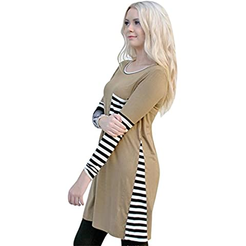 Xinantime Moda Cappotto Manica Lunga Pullover Maglione