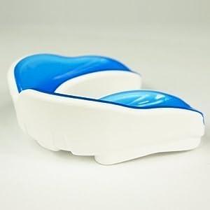 DerShogun Mundschutz Single mit Geleinlage blau weiß verschiedene Größen