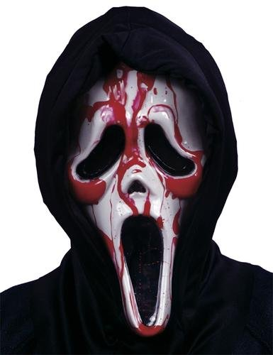 Scream Blutende Maske - Blutende (Kostüm Scream Blutende)
