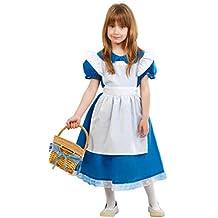 Guirca - Disfraz Alicia, talla 7-9 años, color azul (81672)