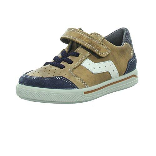 RICOSTA Jungen LON Sneaker, Braun (Nougat), 31 EU