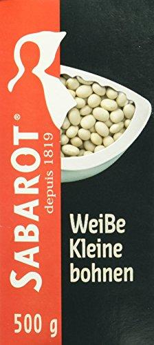 Sabarot weisse Cocos Bohnen, 5er Pack (5 x 500 g)