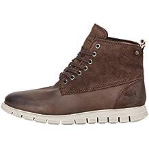 Jack & Jones Men's Men's Leather Brown Boots 100% Leather