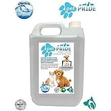 5L mascota orgullo de la perrera, cattery desinfectante, limpiador, ambientador – algodón fresh