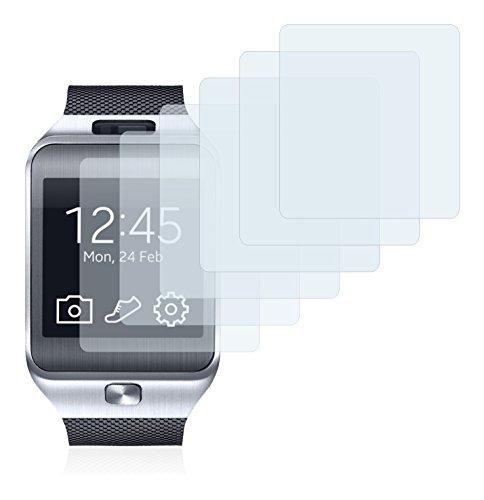 Savvies Pellicola Protettiva Compatibile con Samsung Galaxy Gear 2 Neo SM-R381 Protezione Schermo [6 Pezzi]