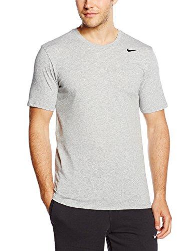 Nike Dri Fit 2.0 - Maglietta a maniche corte yomo , colore grigio (dark grey heather/black), taglia L