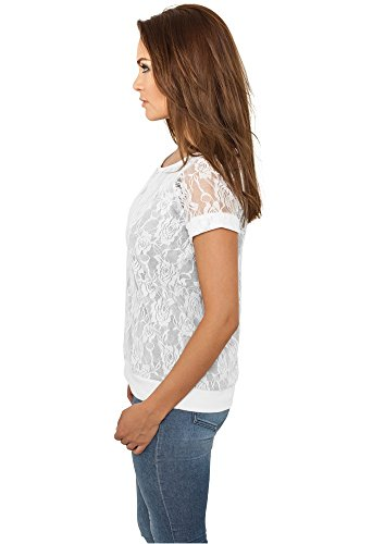 Urban Classic TB716 Damen Top Ladies Camo Loose Tank white/grey