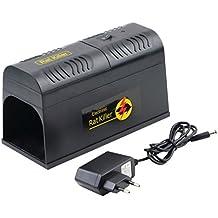 Mengonee Ratón Rat Ratón electrónico Ratón Asesino de roedores Choque eléctrico Adaptador de enchufe de la UE Repelente de alto voltaje Zapper Control de plagas