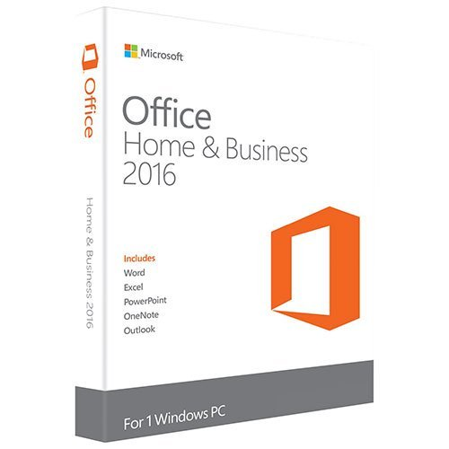 Microsoft Office Home and Business 2016 for Windows 7,8,10 (32Bit/64Bit) with Media DVD Format (Word, Excel, PowerPoint, OneNote, Outlook 2016) for 1 PC / User  available at amazon for Rs.18299