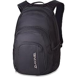 Dakine Campus 25L Rucksack, Laptop-Fach, Rücken gepolstert, Farbe: Black