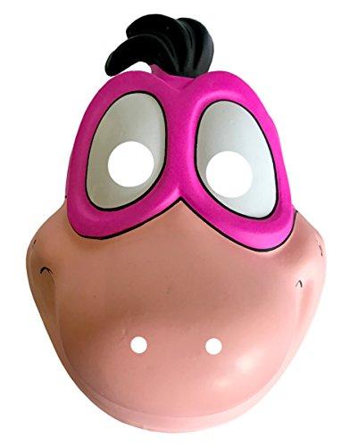 rte Flintstones Dino Halbmaske als Kostüm Accessoire für Kinder (Dino Flintstones Kostüme)