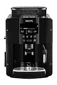 Krups YY8135FD Machine à Espresso Full Auto Compacte avec Ecran Noir