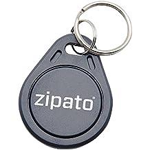 Zipato rfidtagkey.blk Badge RFID petit s'intègre sur un porte-clés-Noir
