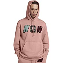 Nike M NSW NSW Hoodie PO FLC - Sudadera, Hombre, Rosa(Rust Pink