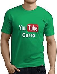 Tuning Camisetas - Camiseta divertida para Hombre - Modelo YoutubeCurro