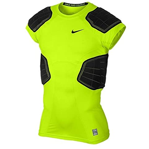 Nike Maillot de football américain Pro Hyperstrong 3.0 Compression 4-Pad (X-Large)