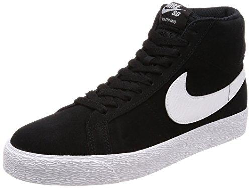 Nike Unisex-Erwachsene Sb Zoom Blazer Mid Fitnessschuhe, Schwarz (Black White 002), 42 EU