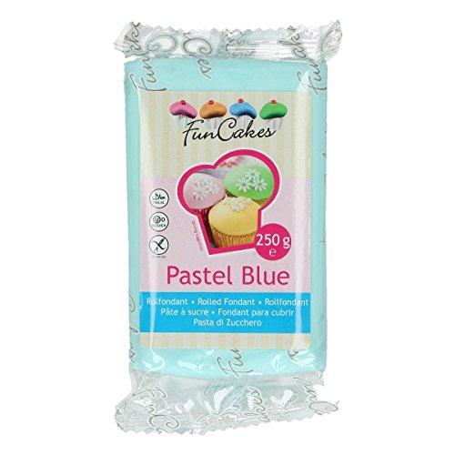Pâte à sucre - Bleu pastel - FunCakes