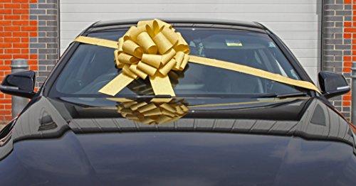 Lazo megagigante coche 40cm + 6 metros cinta coches