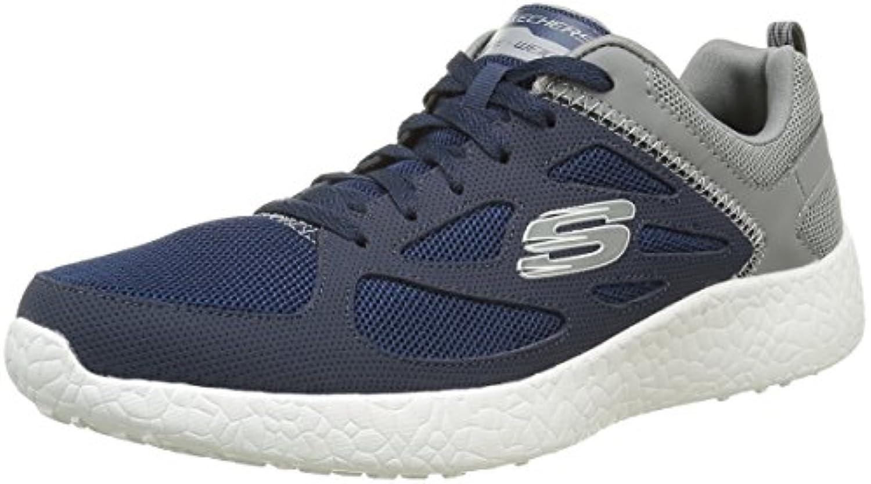 Skechers Herren Burst Sneaker  Blau Bleu Nvgy Marine  41 EU