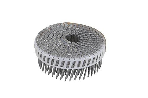 Hitachi 133766000Zählen Ring Schaft Hot Dip verzinktem Kunststoff Spule, 5,1x 0,2cm (Ring Hot Dip)