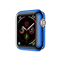 Applicable For Apple 4Th Generation Watch Case Tpu 3 Generation Protective Cover Soft Shell Electroplated Tpu Protective Case